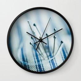 Pins and Needles Wall Clock