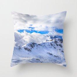 Caucasian ridge Throw Pillow