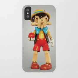 Skull Pinocchio iPhone Case