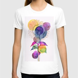 Sunflower Abstract T-shirt
