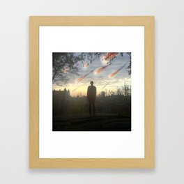 #Goodmorning #Apocalypse - 20151023 Framed Art Print