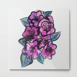 FLOWERS II Metal Print