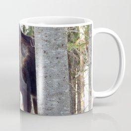 Molting Moose in Spring Coffee Mug