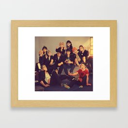 Karasuno Framed Art Print