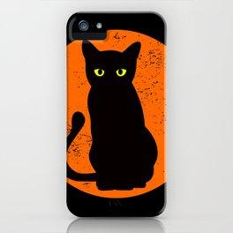Cat de Luna iPhone Case