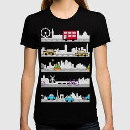 City travel T-shirt