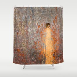 Leak Texture Shower Curtain