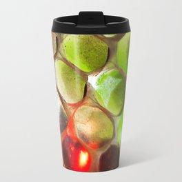 Snakeskin & Beads Travel Mug