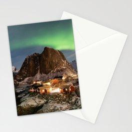 Northern Lights Over Hamnøy Stationery Cards