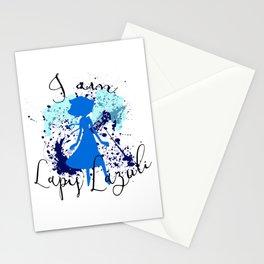I am Lapis Lazuli Stationery Cards
