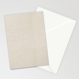 Farmhouse Burlap Stationery Cards