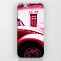 vw iPhone & iPod Skins featuring VW Kaefer by Julia Aufschnaiter