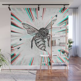This wasp is pissed! Wall Mural