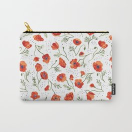 Hypnotic Poppy Carry-All Pouch