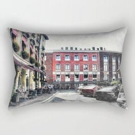Cracow art 4 Kazimierz #cracow #krakow #city Rectangular Pillow