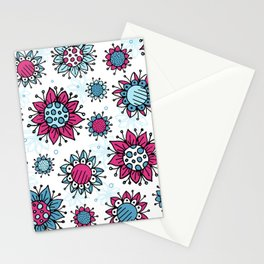 Weird and Wonderful (Flowers) Stationery Cards