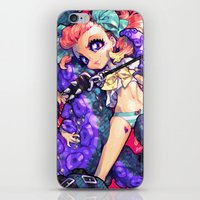 barachan iPhone & iPod Skins featuring tentacles by barachan