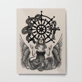 Fortune Metal Print
