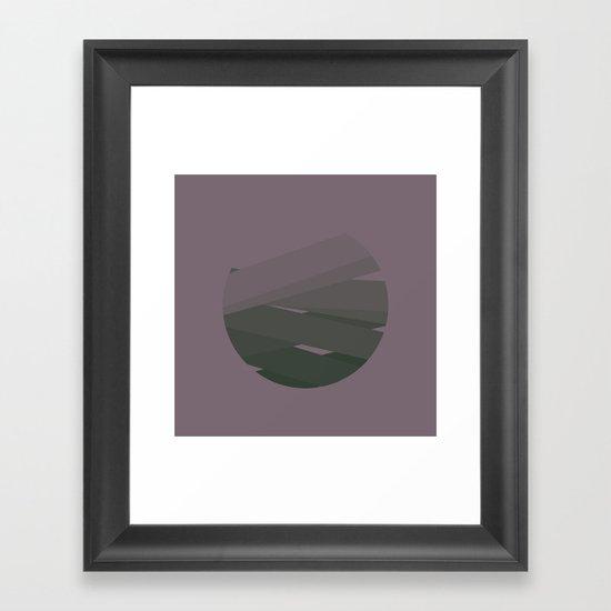#37 Son of Ra – Geometry Daily Framed Art Print