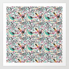 Otomi Roadrunners Art Print
