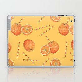 orange juice _ light Laptop & iPad Skin