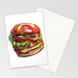 Hamburger Rainbow Stationery Cards