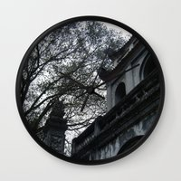vietnam Wall Clocks featuring Vietnam by Lili Lash-Rosenberg