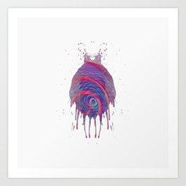 Inknograph XIII - Ink Blot Art Art Print