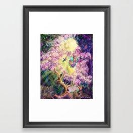 Air Express- Web Of Gifts Framed Art Print