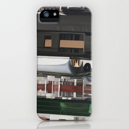 K7 Three iPhone Case