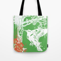 Goldfinch Mother - Spring Explosion Tote Bag