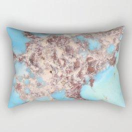 Turquoise Nugget Rectangular Pillow
