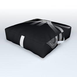 El Gato negro Outdoor Floor Cushion