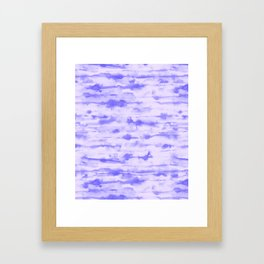 Stratus Ultraviolet Framed Art Print