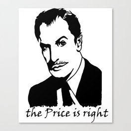 The Price is Right, vertical Canvas Print