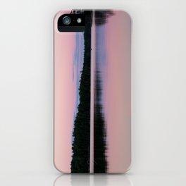 Sunset on Little Loon iPhone Case