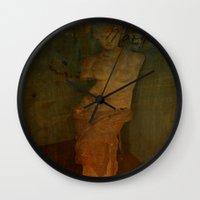 virgo Wall Clocks featuring VIRGO by lucborell