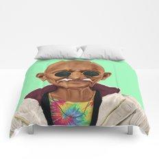 Hipstory -  mahatma gandhi Comforters