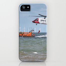 Rhyl Air Sea Rescue iPhone Case