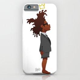 Kid Basquiat iPhone Case
