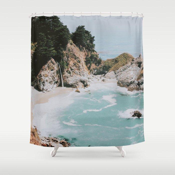 Big Sur California Shower Curtain By Mauikauai