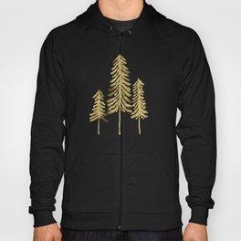 Pine Trees – Gold Palette Hoody