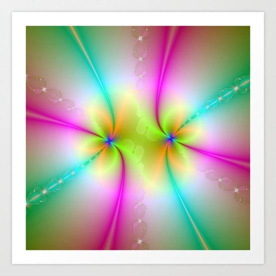 Color Dance Art Print
