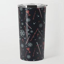 Tarot Card Suits Travel Mug