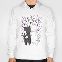 family Hoodies featuring Bear Family by Freeminds