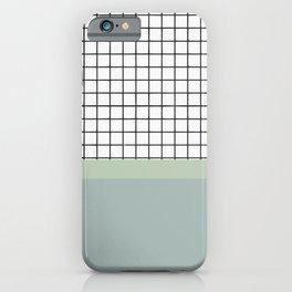 Minimalist abstract pastel iPhone Case