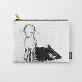 A Wolf In Sheep Clothing Carry-All Pouch