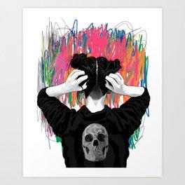 the Void II Art Print