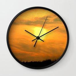 Gooseberry Island Sunset Wall Clock