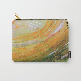 Fish in a Green Sea Carry-All Pouch
